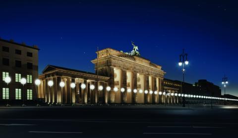 25-året for Berliun-murens fald