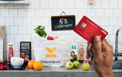 Norwegian Reward inngår samarbeid med Kolonial.no