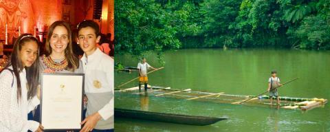 "Pressinbjudan: Möt ""Childrens Climate Prize"" finalisterna som drog Colombia inför domstol"