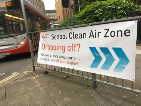 RAC comments on plans to fine parents for doing the the school drop-off