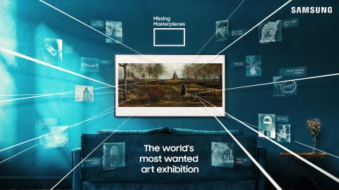 Samsungs digitale kunstudstilling Missing Masterpieces genskaber forsvundne kunstværker