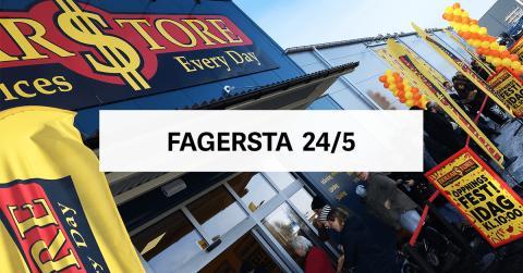 Öppningsfest - DollarStore Fagersta