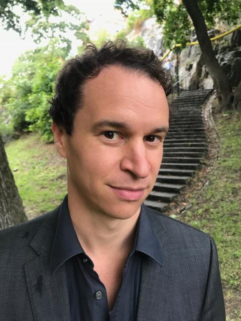 Romain Rumpler, forskare inom ljud och vibrationer på KTH. Foto: Privat