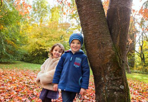 Kuschelmode für kühle Herbsttage