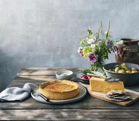 Keramiker från Brännland inleder samarbete med Västerbottensost®