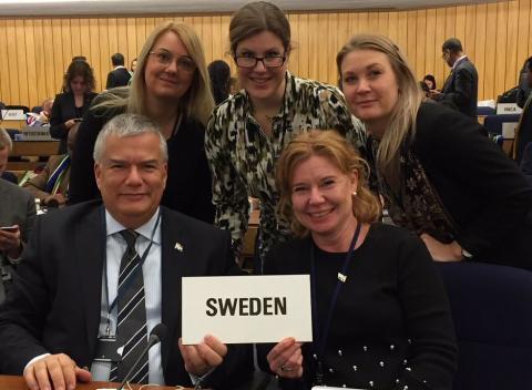 Sverige invalt i rådet för FN:s sjöfartsorganisation IMO