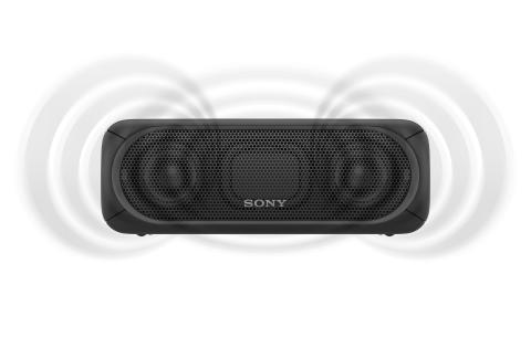 SRS-XB30 von Sony_schwarz_5