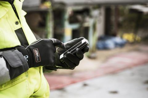 Smarta handskar för smartphones