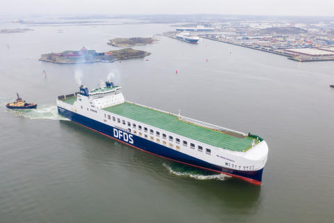 DFDS increases capacity at the Port of Gothenburg with new vessel