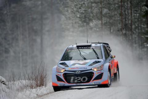 Hyundai i20 WRC i Rally Sweden
