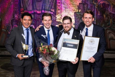 Göteborgarna bakom bioteknikföretaget Cellink vann Årets Företagare i Sverige 2019