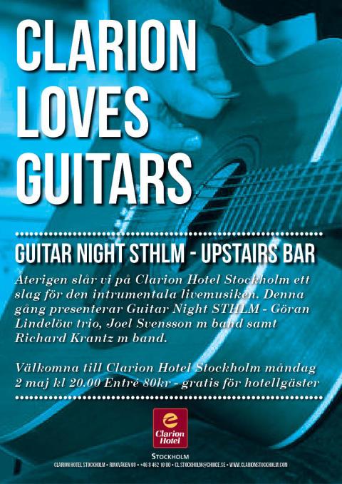 Guitar Night STHLM