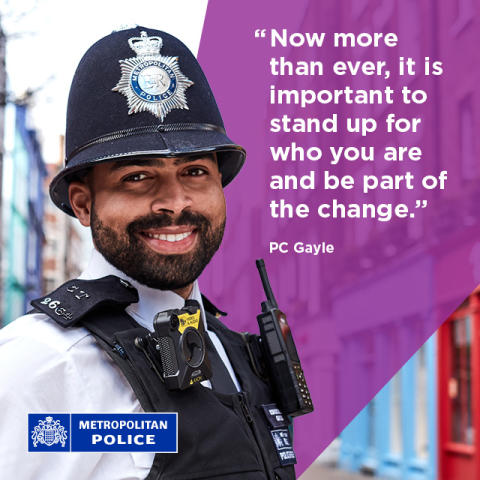 Diverse Met Police officers share incredible personal stories in campaign to recruit more constables