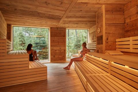 Nordic Sauna at Aqua Sana Sherwood Forest