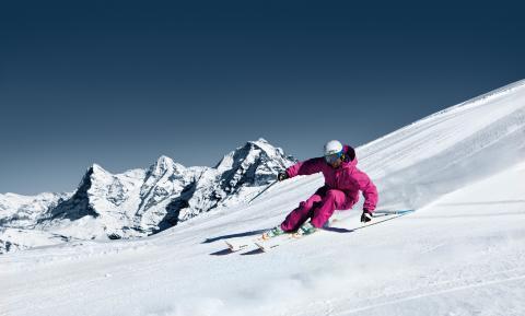 Skifahren Schilthorn