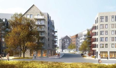 Planer på ny stadsdel i Stockholm fick grönt ljus – Ebab ansvarar för utvecklingen