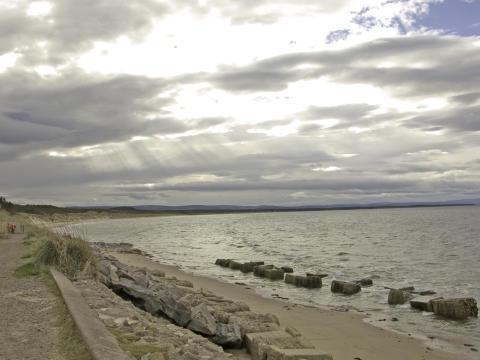 Moray The Beach