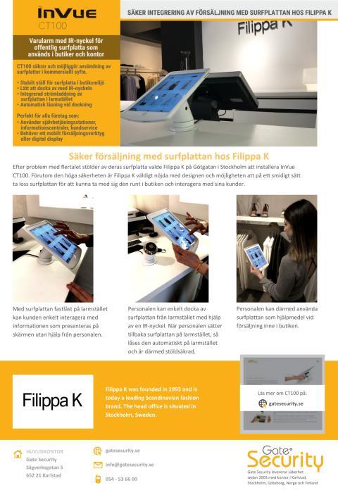 PDF: Säker integrering av försäljning med surfplattan hos Filippa K