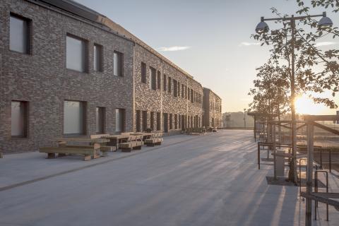 Rättspsykiatriskt Centrum i Trelleborg dubbelt prisat för Årets Bygge och Årets Fasad
