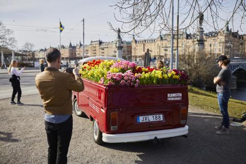 Blomsterbil