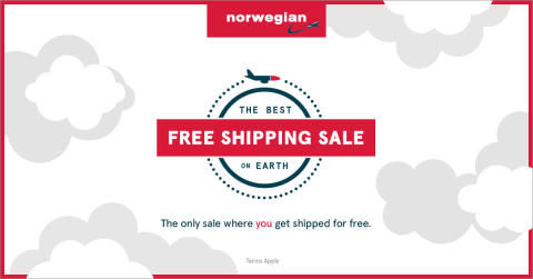 "Norwegian and McKinney Celebrate Free Shipping Day by Launching ""The Best Free Shipping Sale on Earth"""