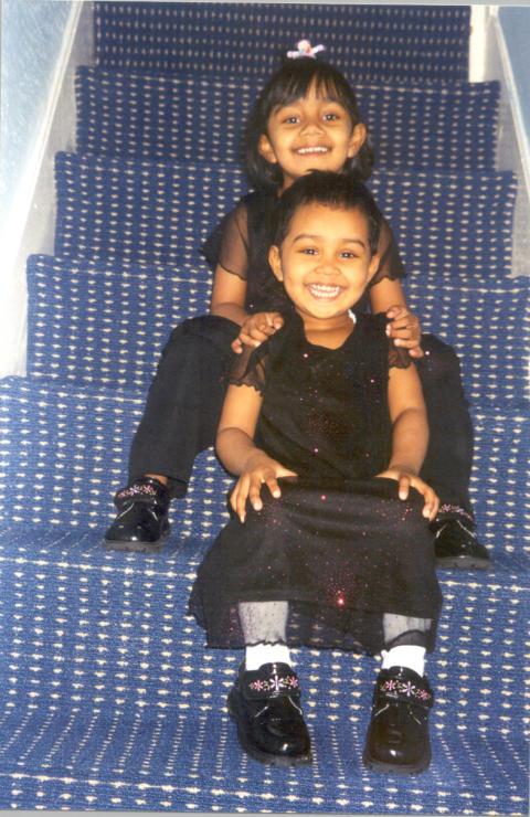 Thanha and Anika Khanum