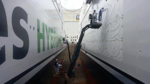Scandlines' neue Schiffe wieder im Wasser 9