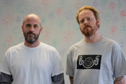 James Frey og medforfatter Nils Johnson-Shelton