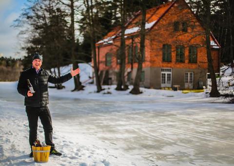Högberga Gård blir med bakficka - Öppnar upp gamla Vattenverket vid Kottlasjön