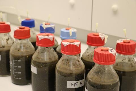 AAU bruger små fede syrer til at gøre rensningsanlæg mere klimavenlige