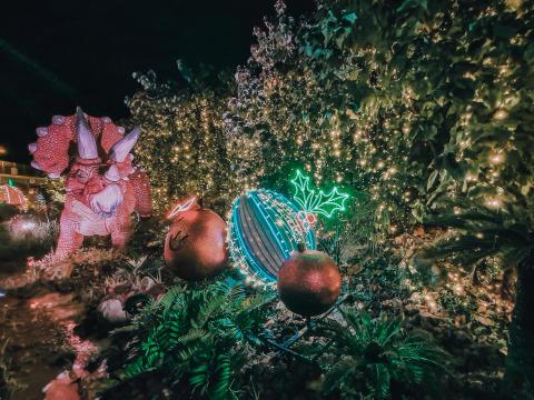 Changi Jurassic Mile lights up this festive season