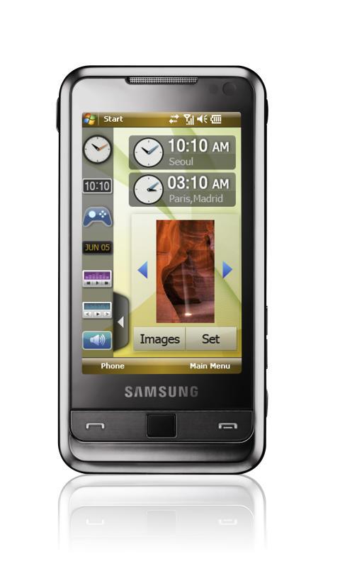 Samsung debuterar med mobilen Omnia som ger allt