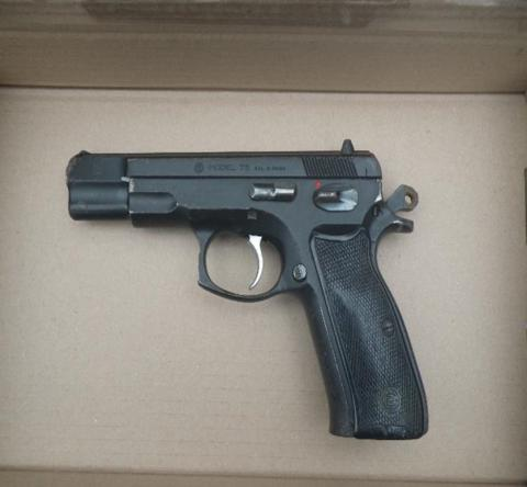 L136-19 Gun seized