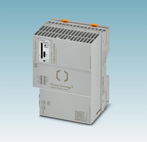 PLCnext Technology: Hardware udvidet med en kraftig controller