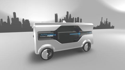 Ford presenterar Autolivery – ett koncept för framtida transporter