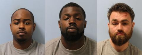 Three men who posed as delivery drivers jailed for attempted robbery