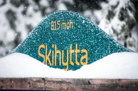 Langrenn fra Skihytta