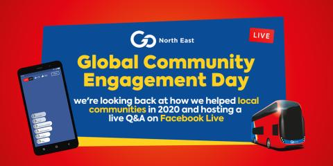 Go North East celebrates Global Community Engagement Day