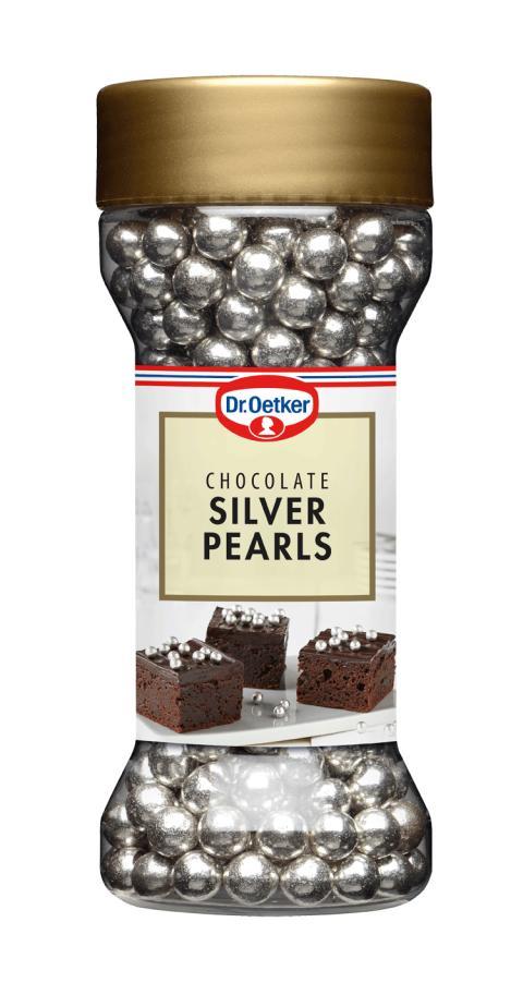 Dr. Oetker Sverige återkallar Chocolate Silver Pearls