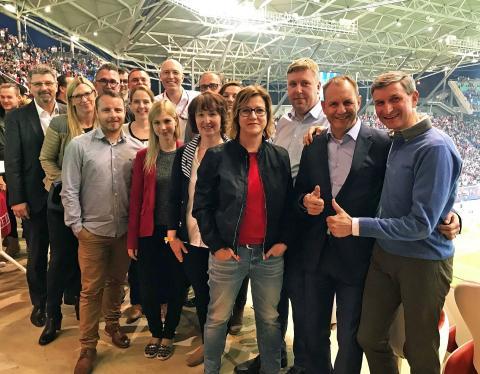 Leipzig wirbt vom 15. bis 17. Mai auf der IMEX 2018 für den Tagungsstandort