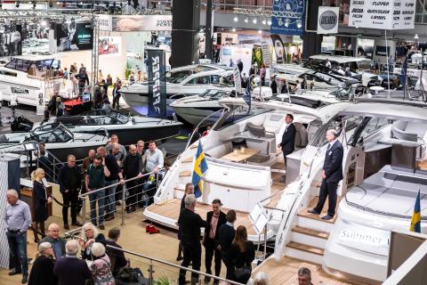 Båtmässan i Göteborg indikerar fortsatt bra båtförsäljning