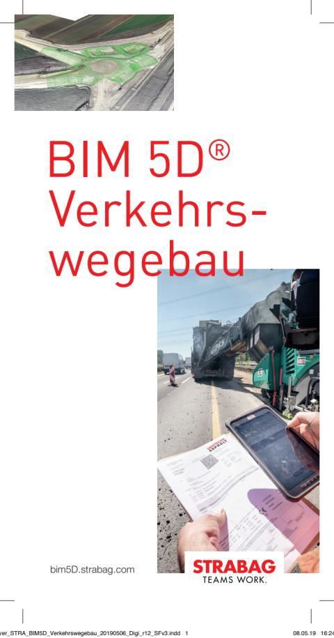 STRABAG: BIM 5D® Verkehrswegebau