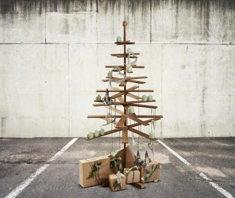 Habitree Weihnachtsbaum aus Kebony Holz