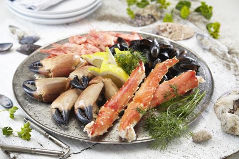 Norwegian shellfish exports lower in first half of 2017