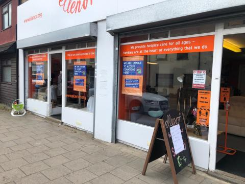 ellenor shops re-open after 13 weeks...