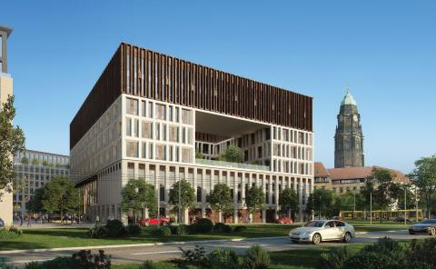 ZÜBLIN to design and build new public administration centre for Dresden