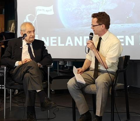 Hør Erik Tandberg snakke om Månelandingen på SENT 10. oktober!