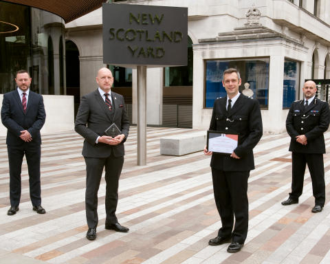 Met team helping assaulted officers wins national award