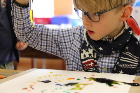 Dem Wasser auf der Spur: Forschertage der Grundschule Louisenlund
