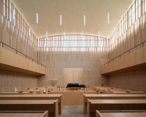 ZÜBLIN Timber-Projekt Synagoge Regensburg 2
